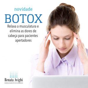 botox tratamento da dtm apertamento